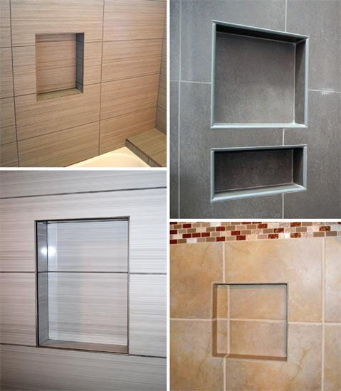 ledge products ready to install shower niche and bathroom. Black Bedroom Furniture Sets. Home Design Ideas